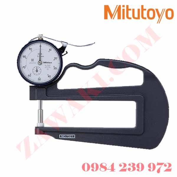 Đồng hồ đo chiều dày Mitutoyo 7321 (0-10mmx0.01)