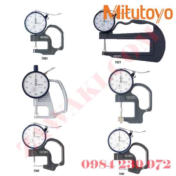 Đồng hồ đo dộ dày Mitutoyo