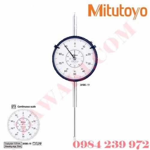 Đồng hồ so Mitutoyo 100mm