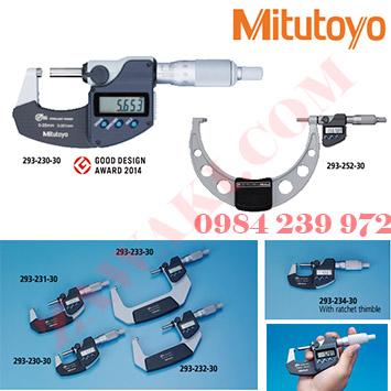 Hướng dẫn sử dụng panme điện tử Mitutoyo