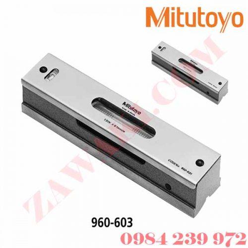 Nivo thanh Mitutoyo 960-603 200x44x38.2mm/ 0.02mm/m