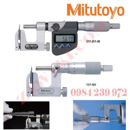 Panme chuyên dụng Mitutoyo 317, 117