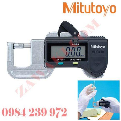 Panme đo độ dày điện tử Mitutoyo 700