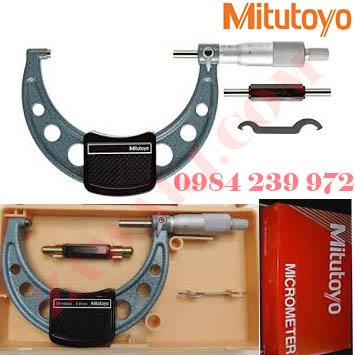 Panme đo ngoài cơ khí Mitutoyo 103-144-10 175-200mmx0.01mm