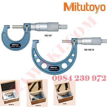 Panme đo ngoài cơ khí Mitutoyo 103 nhật bản