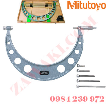 Panme đo ngoài cơ khí Mitutoyo 104-142A 300-400mmx0.01mm