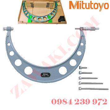 Panme đo ngoài cơ khí Mitutoyo 104-143A 400-500mmx0.01mm