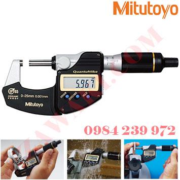 Panme đo ngoài điện tử Mitutoyo 293-185 0-25mm/5.4mmx0.001