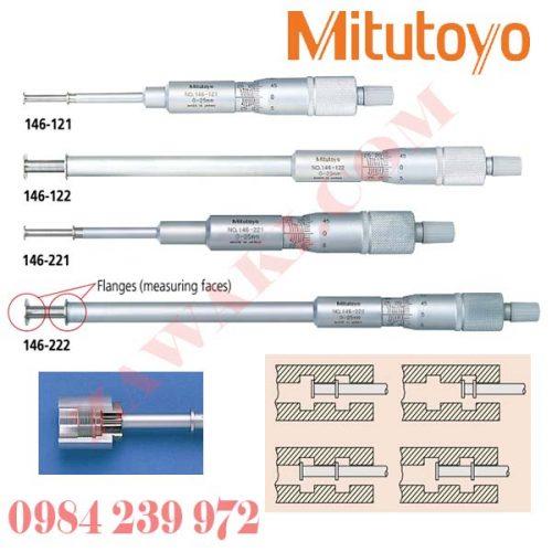 Panme đo rãnh trong Mitutoyo 146