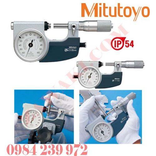 Panme gắn đồng hồ so Mitutoyo 510