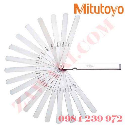 Thước căn lá Mitutoyo 184-313S (0.05-1mm/28 lá/100mm)