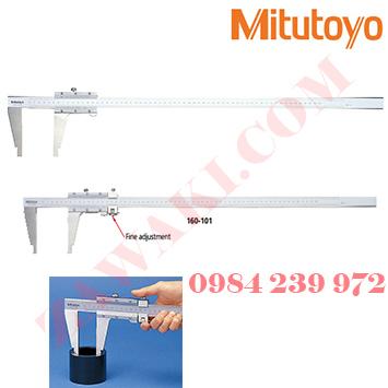 Thước cặp cơ khí Mitutoyo 160-151 (0-450mm/0-18x0.02)