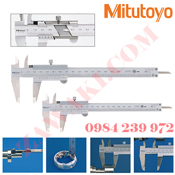 Thước cặp cơ khí Mitutoyo 530-104 (0 - 150mm/0 - 6''x0.05mm)