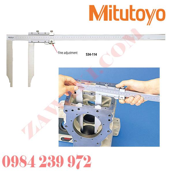 Thước cặp cơ khí mỏ dài Mitutoyo 534