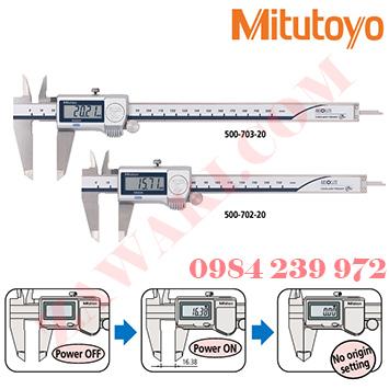 Thước cặp điện tử Mitutoyo 500-753-20 (0-200mm/0-8x0.01)