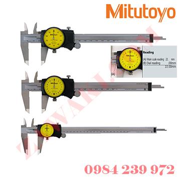 Thước cặp đồng hồ Mitutoyo 505-733 (0-200mmx0.01mm)