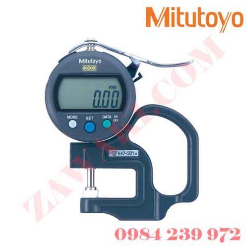 Thước đo độ dày điện tử Mitutoyo 547-301 (0-10mmx0.01)