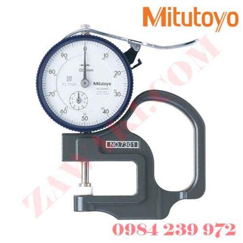 Thước đo độ dày Mitutoyo 7327 (0-1mmmx0.001)