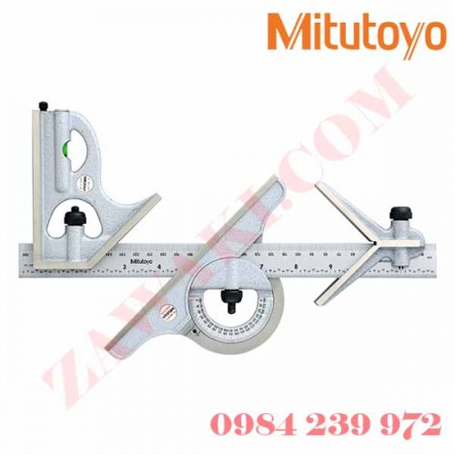 Thước đo góc vuông Mitutoyo 180-907B (300mm/0-12)