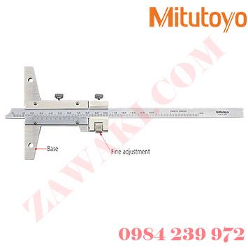 Thước đo sâu cơ khí Mitutoyo 527-203 (0-300mmx0.05)