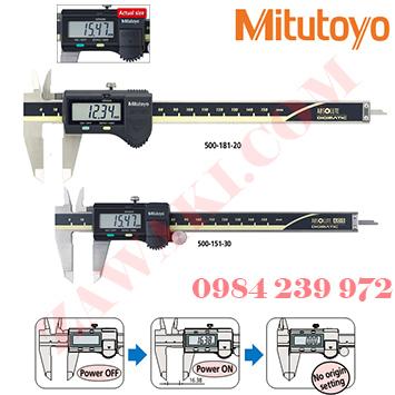 Thước kẹp điện tử Mitutoyo 500-181-30 (0-150mmx0.01mm)