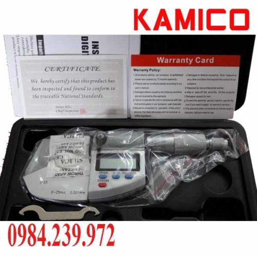 Panme đo ngoài điện tử 0-25mm 293-0-25