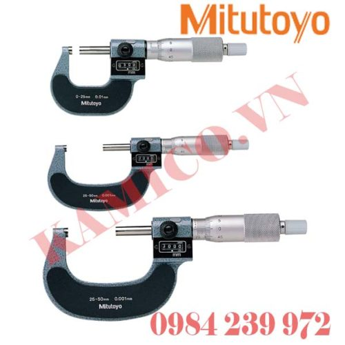 Panme đo ngoài hiển thị số Mitutoyo 193