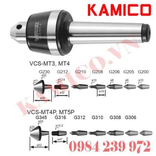 Đầu chống tâm cao tốc VSC Vertex